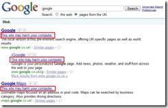 Google EPIC Fail