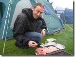 Camping at Craster