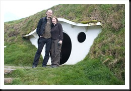 Leela and Sean at Bag End